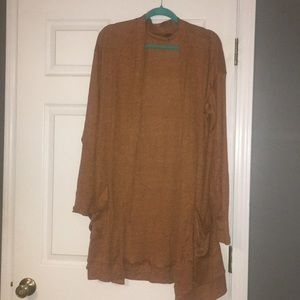 Brand New Burnt Orange Cardigan